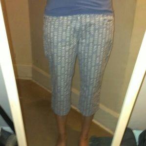 Anthropologie Idra Sz 6 cropped pants