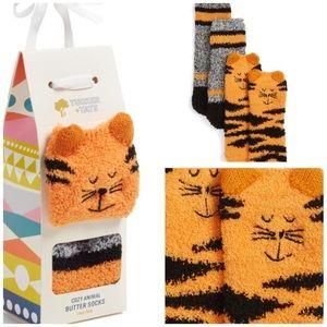 Tucker + Tate Other - Fuzzy animal socks