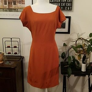 Neiman Marcus Dresses & Skirts - Neiman Marcus Y. LE.V orange silk dress.