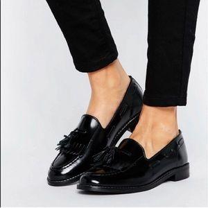 H By Hudson Shoes - H by hudson London fringe loafers 9 black