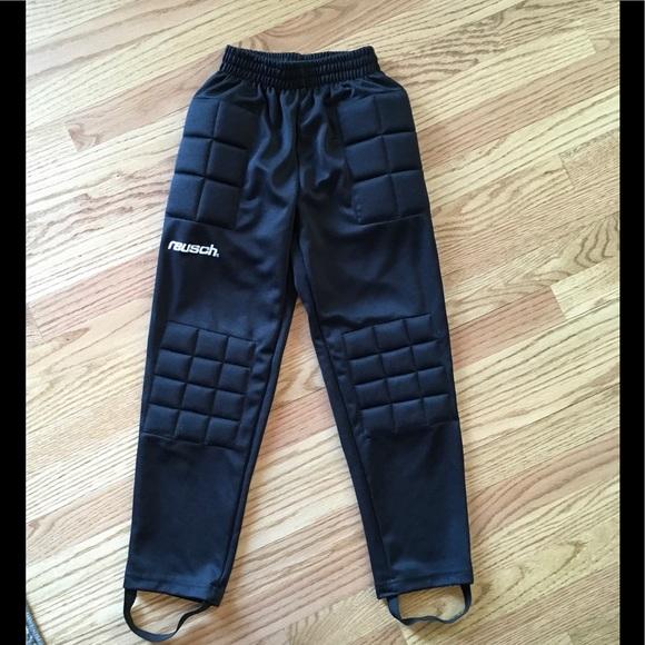 Black Goalie Pants. M 591908272599fe724902677c cc2146d623