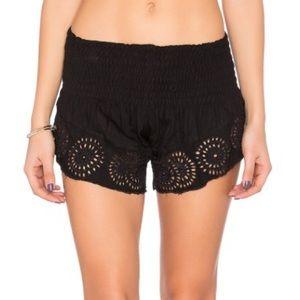 Tiare Hawaii Pants - Tiare Hawaii Eyelet Shorts