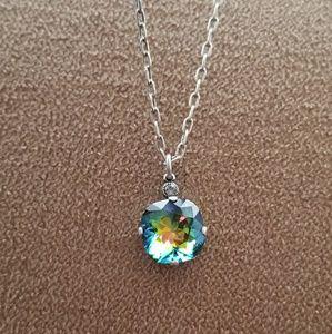 Catherine Popesco Jewelry - Large stone necklace