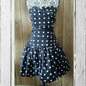 LUELLA for Target Strapless Dress
