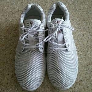 Alpine Swiss Other - EUC white Alpine Swiss shoes
