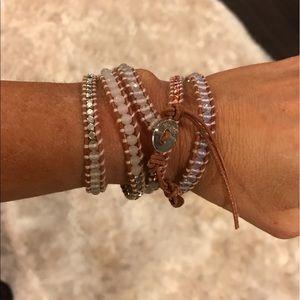 Jewelry - Chan Luu Bracelet- White, Copper & Silver Beads