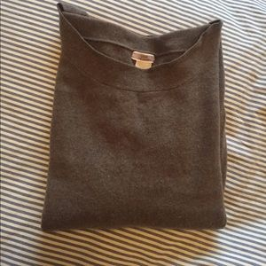 J Crew 100% Cashmere Boatneck Sweater