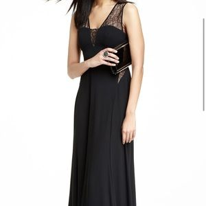 BCBG formal dress black