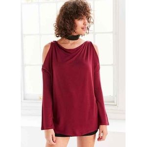 Urban Outfitters Tops - NWT Urban Outfitters Cold Shoulder Pullover