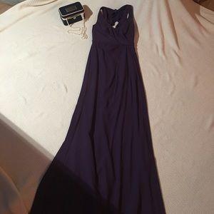 Vera Wang Dresses & Skirts - Vera Wang Matte Crepe Column Dress
