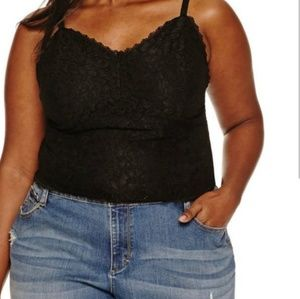 Ashley Nell Tipton Tops - Ashley Nell Tipton  Lace Bralette Top
