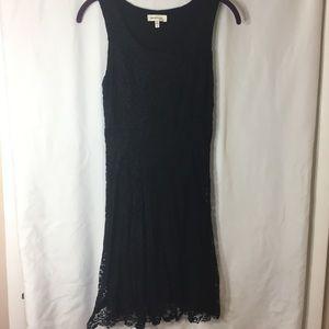 Monteau Dresses & Skirts - Lace Black Dress