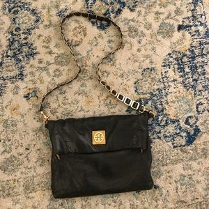 Tory Burch Satchel with Gold Chain
