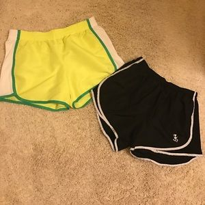 Pants - 2 pairs of workout shorts
