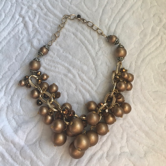 versona 5 for 20 gold and bronze statement necklace