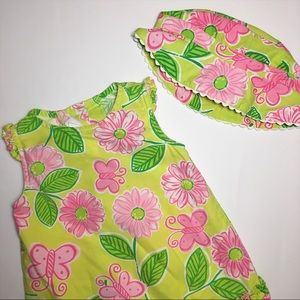 Bonnie Baby Other - *HP* Bonnie Baby Floral Dress and Bucket Hat