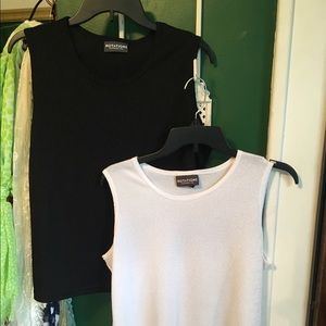Notations Tops - Buy 1 Get 1 Black and White tanks