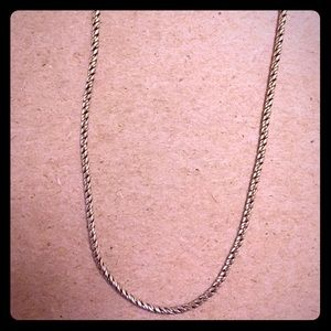 """Jewelry - NEW 15"""" Silver Chain"""