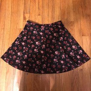 Dresses & Skirts - High waisted flower skater skirt