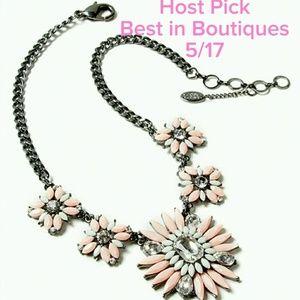 Amrita Singh Jewelry - Amrita Singh  Austrian Crystal Statement Necklace