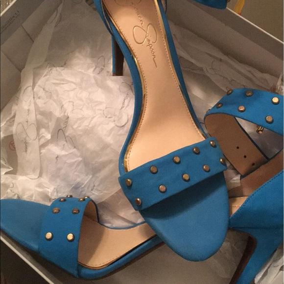 Jessica Simpson Royal Blue Shoes