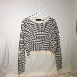 SALEForever 21 Cropped Sweater