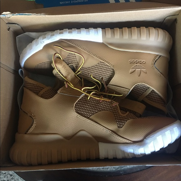 uk availability 0f77e 8aa4e adidas Other - Adidas Tubular X Wheat size 9.5