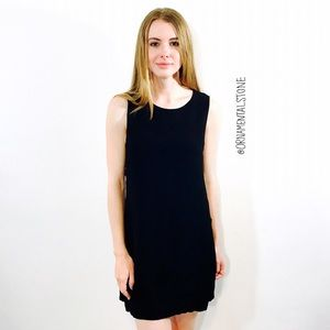Reformation Dresses & Skirts - REFORMATION BLACK MINI DRESS OPEN SIDE SEXY