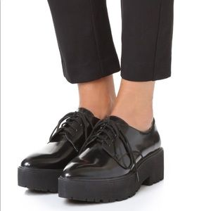 Jeffrey Campbell  Bardem Platform Oxfords ❤️❤️