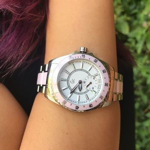 Pink Guess Collection Watch