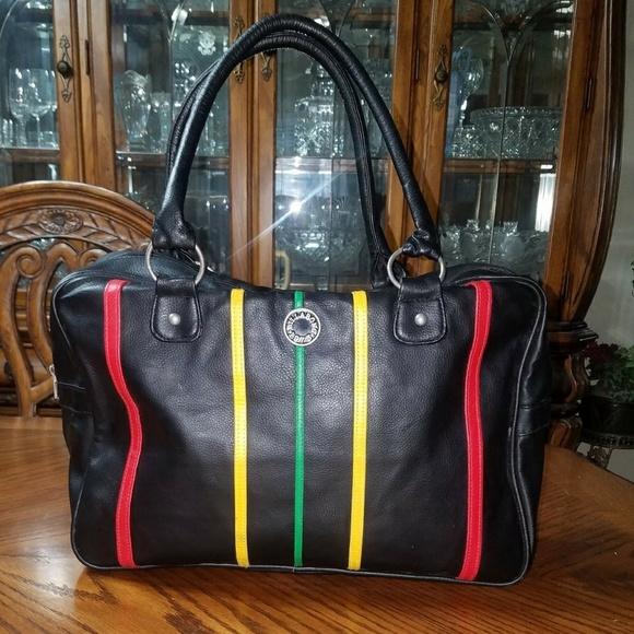 58f2801524a5 Billabong Handbags - Billabong Black Rasta Purse - Bag