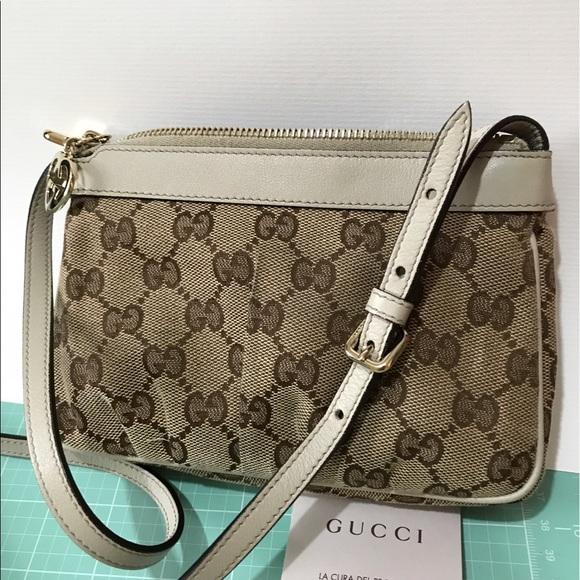 ecd1e0eee82 Gucci Handbags - Gucci Mini Zip-Top Crossbody Bag