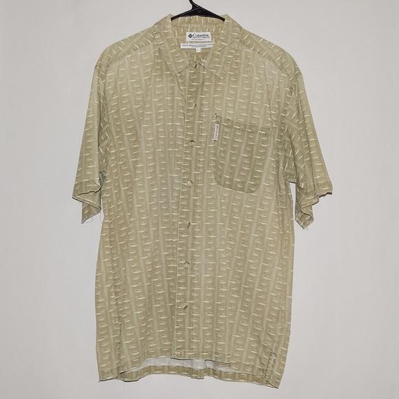 Columbia Columbia Swordfish Short Sleeve Button Up Shirt
