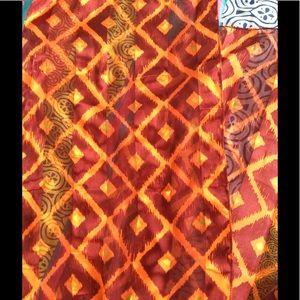 Accessories - 100% silk scarves.