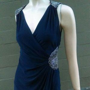 Dresses & Skirts - Navy Blue Elegant Party Dress