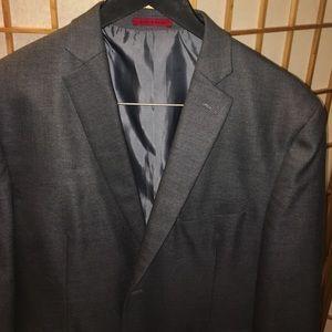 Alfani Other - Alfani SLIM FIT Sz 42S Solid Grey Jacket Blazer