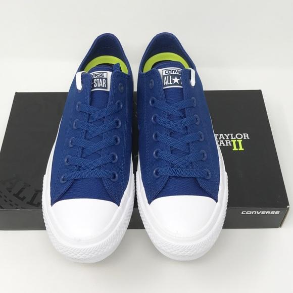 Converse Shoes Chuck Taylor Ii Kidswomens Size Chart Poshmark