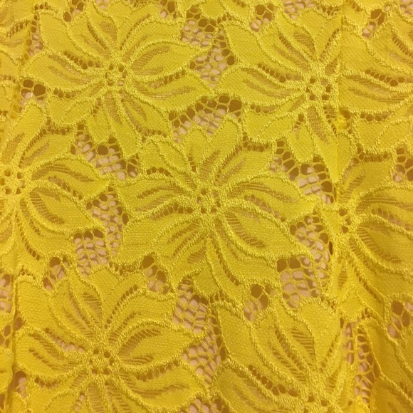 Eight Sixty Dresses - NWOT Yellow Lace Sundress from MODCLOTH