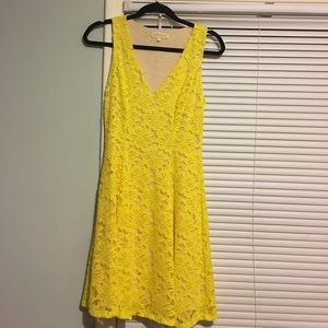 NWOT Yellow Lace Sundress from MODCLOTH
