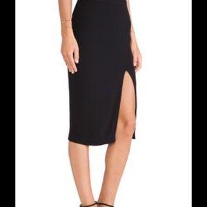 A.L.C. Tonne Skirt in Black