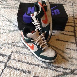 Nike Other - Nike dunk low pro sb size11 net/orange new men's