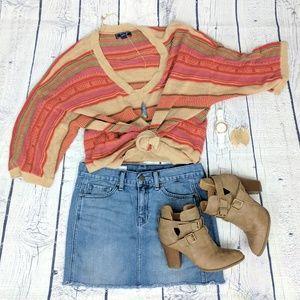 Chaps Sweaters - CHAPS DENIM | boho linen sweater