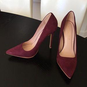 shoe republic la Shoes - Shoe Republic LA Faux Suede Pointy Toe Pump 7