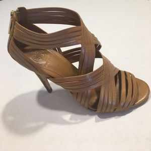 Tory Burch Leather Strappy Sandal Size 8M