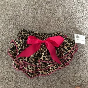 Other - Leopard ruffle diaper cover