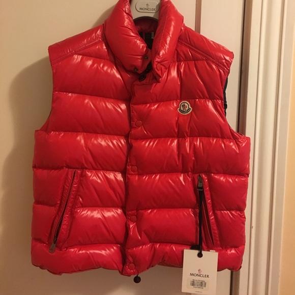 reputable site popular brand premium selection Moncler Jackets & Coats | Flash Sale Mens Red Vest Brand New ...