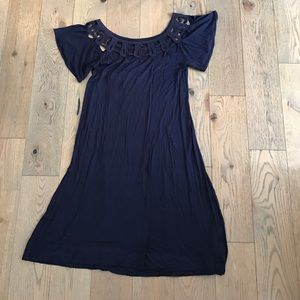 Dresses & Skirts - French connection lace top dress