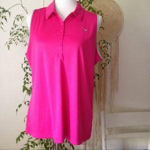 Callaway Tops - Callaway Sleeveless Polo Golf Shirt NWT
