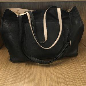 Cooperative Handbags - Reversible Leather Bag