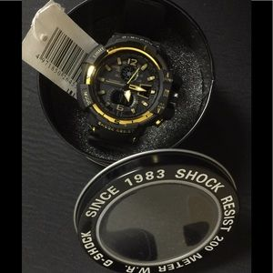 G-Shock Other - New Gold Chrome GSHOCK